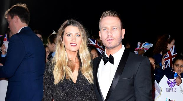 Emmerdale's Charley Webb and Matthew Wolfenden have surprise wedding (Ian West/PA)