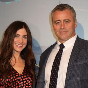 Matt LeBlanc and Aurora Mulligan (Philip Toscano/PA)