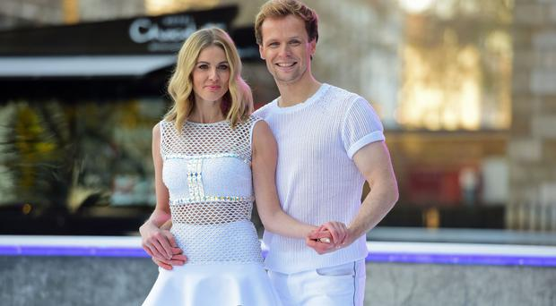 Donna Air and Mark Hanretty on Dancing On Ice