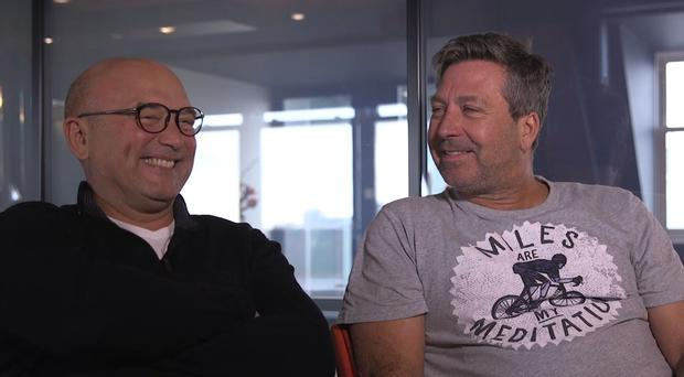 Gregg Wallace and John Torode (screenshot/PA)