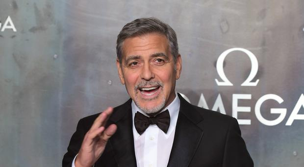 George Clooney made the announcement on Tuesday
