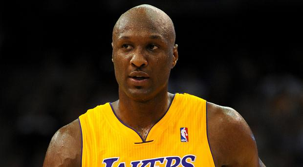 Lamar Odom said he thinks Kardashian will be a great mother (Andrew Matthews/PA)