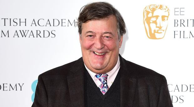 Stephen Fry reveals prostate cancer battle (Ian West/PA)