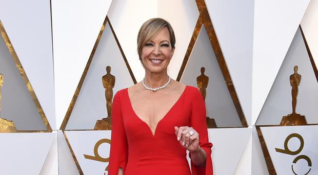 Allison Janney at the Oscars (Jordan Strauss/AP/PA)