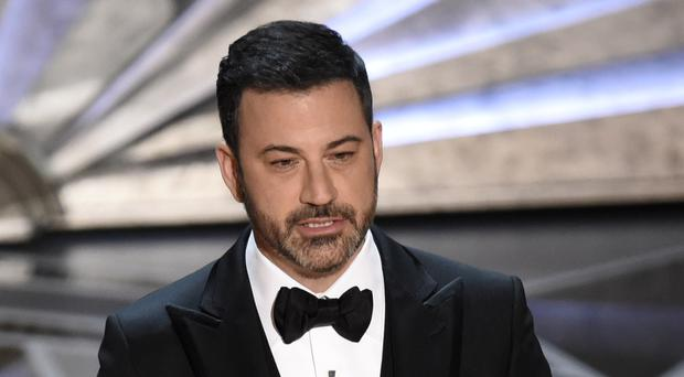 Host Jimmy Kimmel (Chris Pizzello/Invision/AP)