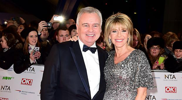 Eamonn Holmes and Ruth Langsford (Ian West/PA)