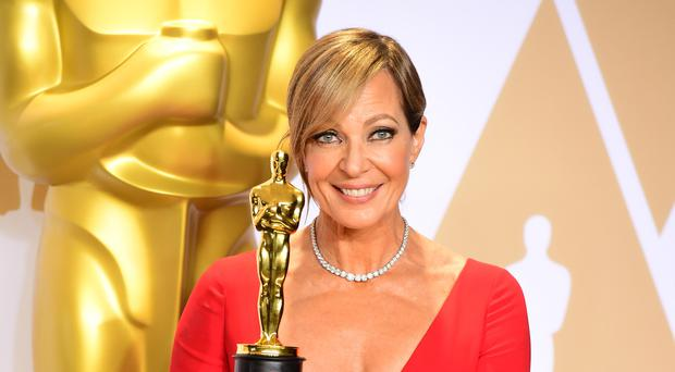 Allison Janney won the best supporting actress Oscar (Ian West/PA)