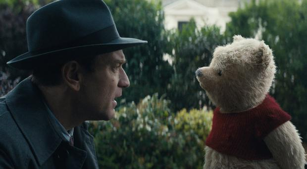 Ewan McGregor in Christopher Robin (Disney)