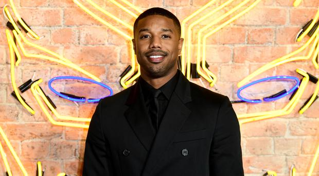 Michael B Jordan (Ian West/PA)
