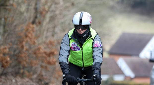 The fifth and final day of Zoe Ball's BT Sport Relief Challenge (Sport Relief)