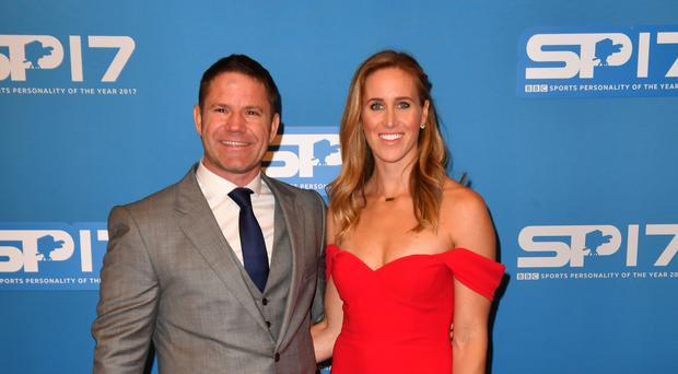 Helen Glover and Steve Backshall (Anthony Devlin/PA)