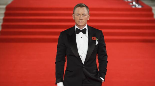 Daniel Craig starred as James Bond in Spectre (Matt Crossick/PA)