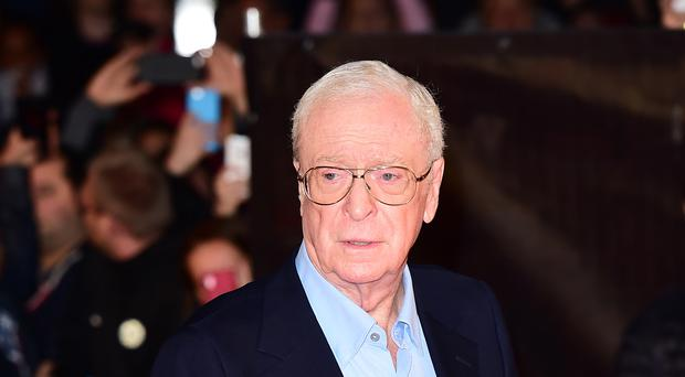Sir Michael Caine (Ian West/PA)