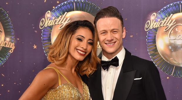 Karen and Kevin Clifton are no longer a couple (Matt Crossick/PA)