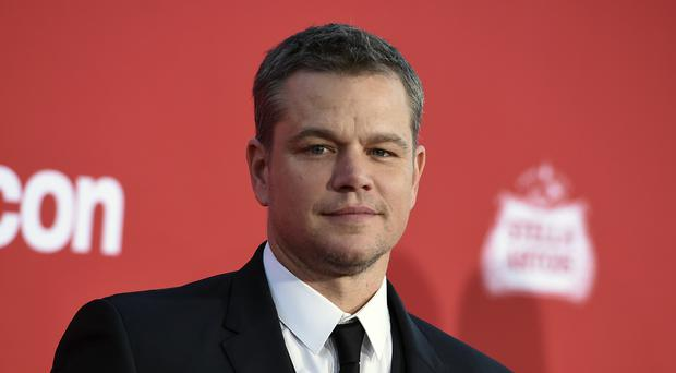 Matt Damon publicly supported Hillary Clinton in the 2016 US presidential election (Photo by Jordan Strauss/Invision/AP, File)