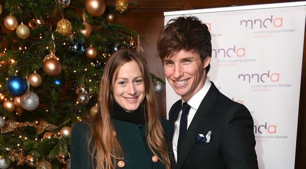 Eddie Redmayne and Hannah Bagshawe (Doug Peters/PA)