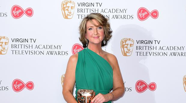 Victoria Derbyshire is stripping off on TV for breast cancer awareness (Ian West/PA)