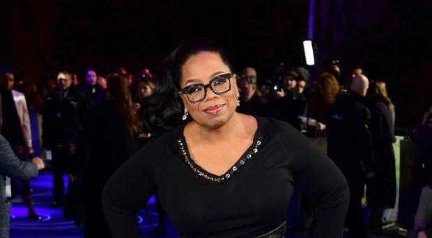Oprah Winfrey attending the A Wrinkle In Time European premiere at BFI IMAX in Waterloo, London (Ian West/PA)