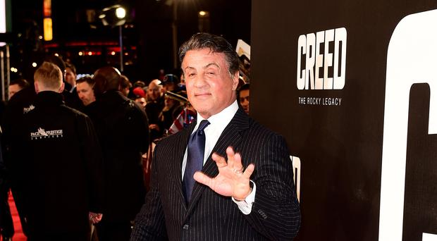 Sylvester Stallone at the European premiere of Creed (Ian West/PA)
