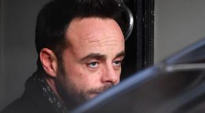 Ant McPartlin leaving a house in west London after he was interviewed by police on the same day it was revealed his TV presenting partner Declan Donnelly will host their programme Saturday Night Takeaway without him (John Stillwell/PA)