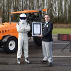 The Stig and LeBlanc's tractor (BBC Worldwide)