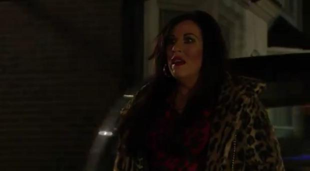 Kat Slater's return to Walford (BBC)