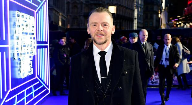 Simon Pegg stars in Ready Player One