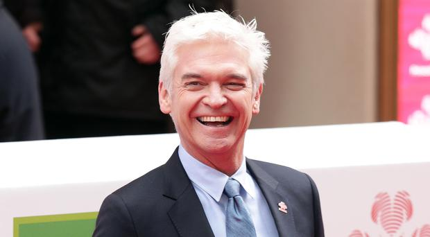 Phillip Schofield has celebrated a marriage milestone. (Yui Mok/PA)