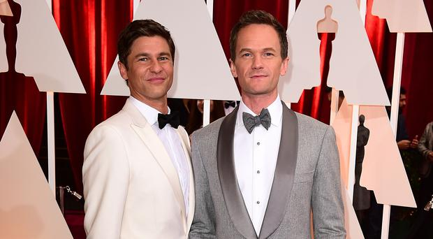 Neil Patrick Harris has paid a sweet tribute to his husband (Ian West/PA)