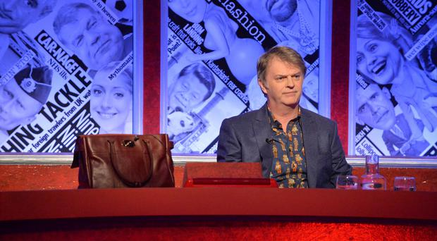 Have I Got News For You's Merton and Hislop on lack of female MP presenters (Richard Kendal/BBC)