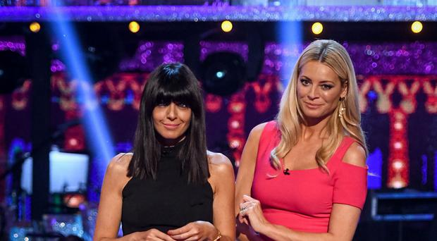 Strictly presenters Claudia Winkleman and Tess Daly (Kieron McCarron/BBC)