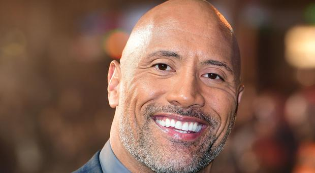 Dwayne Johnson, also known as The Rock (Ian West/PA)