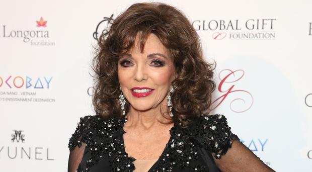 Dame Joan Collins is 'excited' about her American Horror Story role (Isabel Infantes/PA)