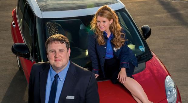 Peter Kay makes first public appearance since cancelling live tour