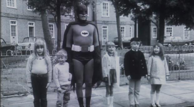 The Batman clip will be shown to an audience of TV professionals and enthusiasts to kick off a hunt for 100 missing television clips (Kaleidescope)