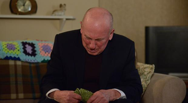 Christopher Timothy as Ted Murray (Kieron McCarron/BBC)