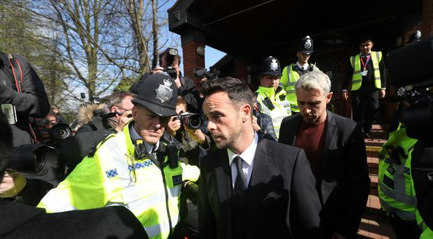 Ant McPartlin arrest