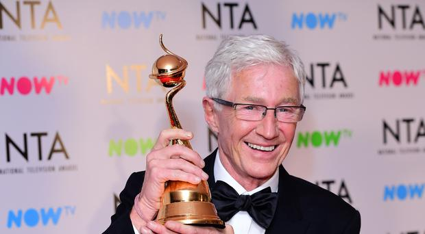 Paul O'Grady was filming a new series in India (Ian West/PA)