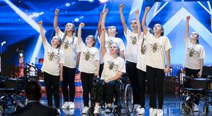 Dance group Rise are through to the next round of BGT (Tom Dymond/Syco/Thames/PA)