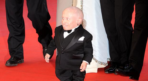The diminutive US actor was best known for playing Mini-Me in Austin Powers (PA)