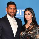 Amir Khan and Faryal Makhdoom have welcomed a second baby girl to their family (Anthony Devlin/PA)