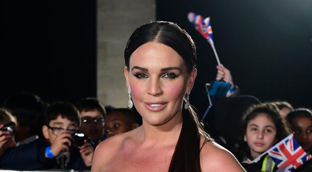 Danielle Lloyd said the 'designer vagina' had changed her life (Ian West/PA)