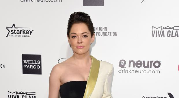 Rose McGowan has said she tried to expose disgraced filmmaker Harvey Weinstein after he allegedly raped her.
