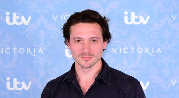 David Oakes is best known for playing Prince Ernest in ITV period drama Victoria (Ian West/PA)