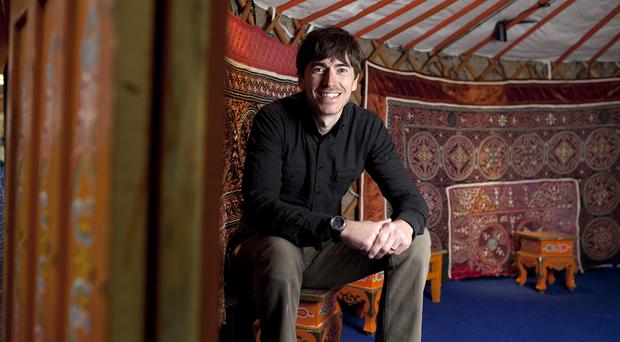 BBC travel presenter Simon Reeve's new series centres round Myanmar's Rohingya crisis.