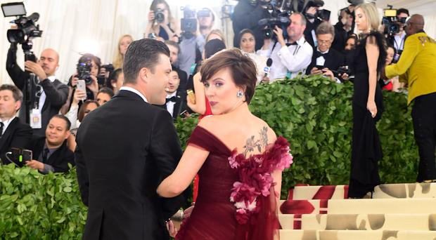 Scarlett Johansson Explains Why She Wore Marchesa to Met Gala