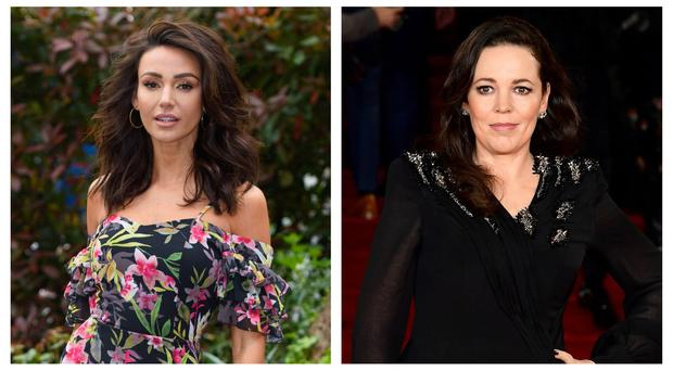 Olivia Colman and Michelle Keegan are in the new series of Who Do You Think You Are? PA Wire/PA)