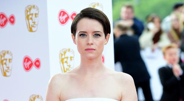 Claire Foy attending the Virgin TV British Academy Television Awards 2018 (Ian West/PA)