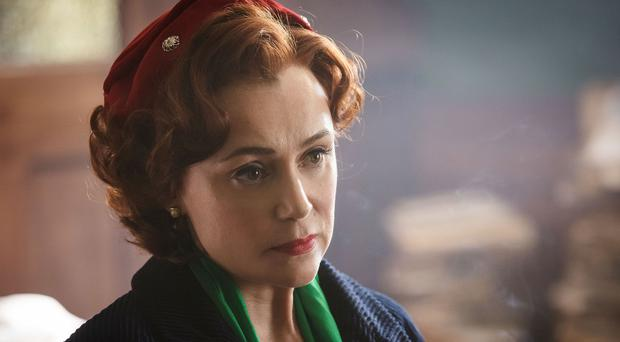 Keeley Hawes as Kathleen in the drama (BBC/Little Island)