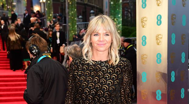 Zoe Ball has praised Coronation Street for the way it approached the issue of male suicide in a recent storyline (Ian West/PA)